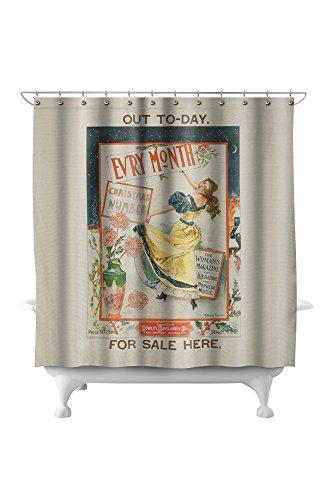 Evry Month Vintage Poster (artist: Archie Gunn) c. 1896 (