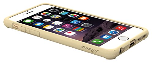 iPhone 6s Case, roocase [Plexis] iPhone 6s Slim Fit Ultra Clear Back PC / TPU Skin Case Cover for Apple iPhone 6 / 6s (2015), Champagne Gold