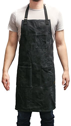 Wholesale Aprons (Readywares Waxed Canvas Utility Apron (Black))
