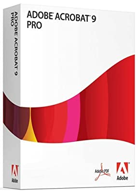 Adobe Acrobat Professional 9 [Old Version]