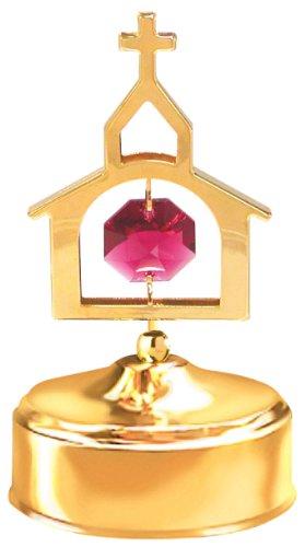 希少 黒入荷! 24 Crystals Austrian Kゴールドメッキ教会音楽ボックス。。。。With Red B00D3QNG7W Austrian Crystals B00D3QNG7W, まくらステーション イプノス:28da8ec6 --- arcego.dominiotemporario.com