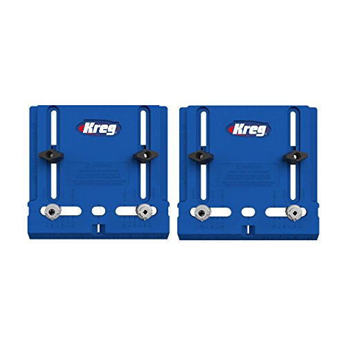 Kreg Tool Company - Durable Cabinet Hardware Jig with Two Harden Steel Movable 3/16