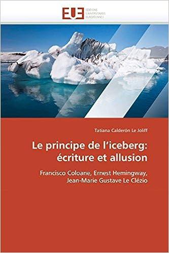 com le principe de l iceberg ecriture et allusion  413t1ny0shl sx331 bo1 204 203 200 jpg
