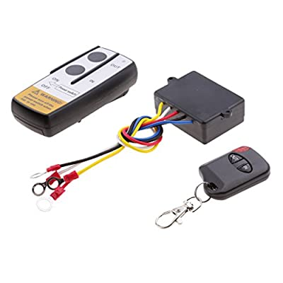 Dovewill Universal 12V Wireless Winch Remote Control Kit Switch Handset For ATV SUV