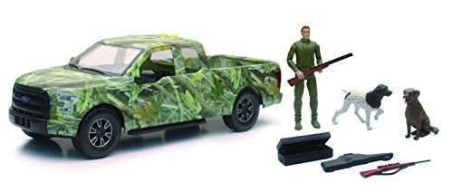 Wildlife Hunter With Ford F 150 Pick Up Hunting Set