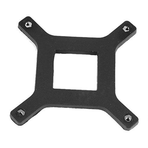 Motherboard Backplate (TOOGOO(R) 2 Pcs CPU Heatsink Fan Bracket Backplate for Socket LGA775 Motherboard)