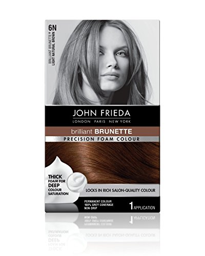 John Frieda Precision Foam Permanent Hair Colour in 5NBG Med