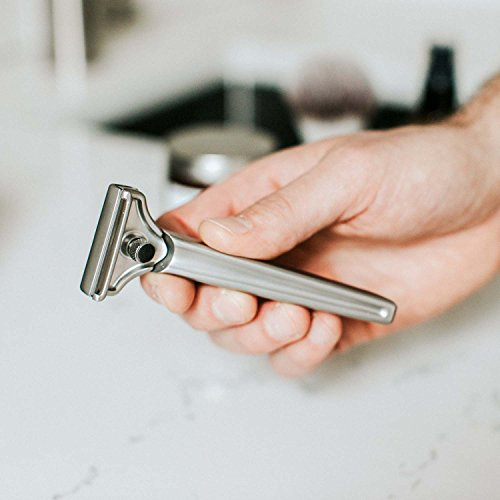 SUPPLY-Single-Edge-Safety-Razor-Solid-Stainless-Steel-Injector-Razor-20-Injector-Blades