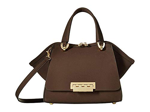 - ZAC Zac Posen Women's Eartha Small Double Handle Espresso Suede One Size