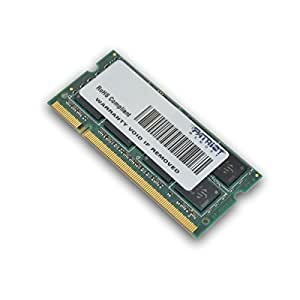 Patriot Memory 4GB DDR2 PC2-6400 SODIMM Kit 4GB DDR2 800MHz módulo de - Memoria (4 GB, 1 x 4 GB, DDR2, 800 MHz, 200-pin SO-DIMM, Verde)