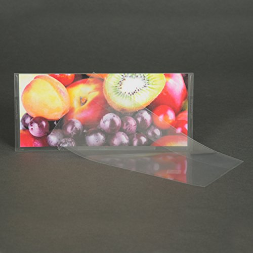 #10 Crystal Clear Envelope, Auto-insertable (9″ x 3.88″ Insert Size) Holds Folded Letter and Flyers - Box 1,000