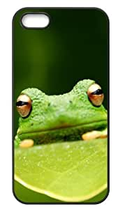 Cool Frog Back Case Hard Durable iPhone 5,5s Case