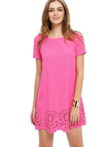 hot pink dress - 1