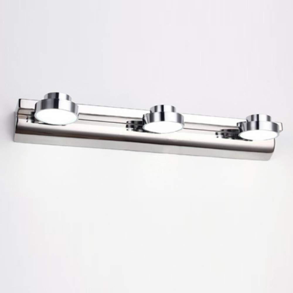 LightInTheBox Bathroom Lighting Metal Wall Light IP67 110-120V Waterproof Over Mirror Vanity Lamps-3 Lights (Cold White)