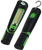 LED Akku Stablampe COB, Stableuchte Arbeitslampe Werkstattleuchte