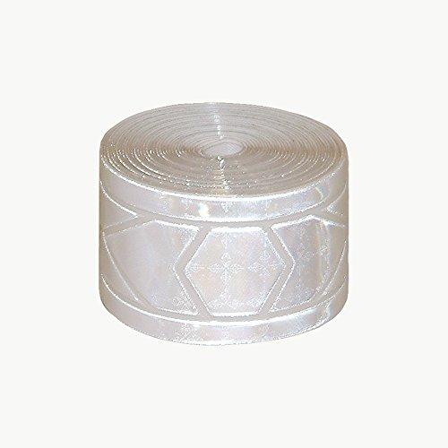 (Oralite (Reflexite) GP-340 Garment Retroreflective Trim: 1-3/8 in. x 10 ft. (Silver-White))