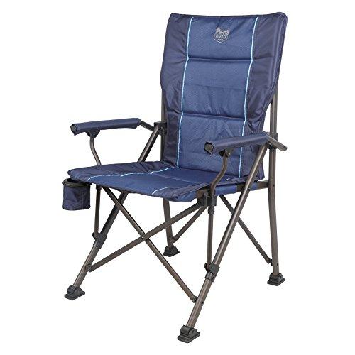 (Timber Ridge Wisteria Hard Arm Chair, Blue)