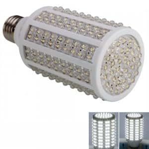 E27 12W 216 LED 1200 Lumen 7000-8000K Pure White Light LED Corn Light Bulb (220V)