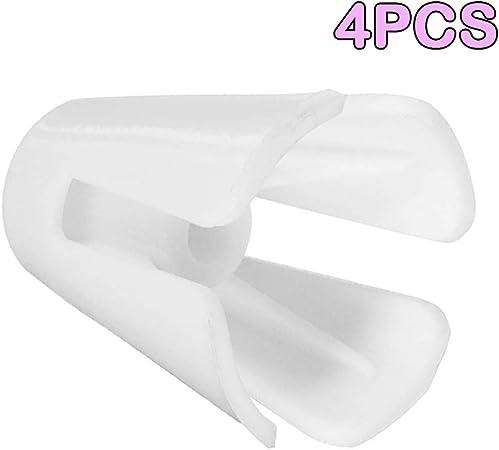 SALAKA Enhebrar Cono Titular 4pcs Hilo Blanco de plástico Carrete ...