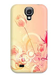 linJUN FENGGalaxy S4 Case Bumper Tpu Skin Cover For Pretty Rose Young Love Accessories