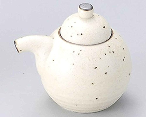 Karatsu 3.3inch Set of 5 Soy Sauce Dispensers Beige porcelain Made in Japan by Watou.asia