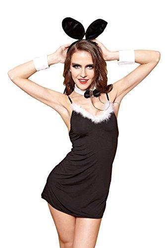 [Vivihoo EU001 Women's Sexy Lingerie Cosplay Bunny Girl Skirt Costume (EU001)] (Womens Sexy Bunny Costumes Lingerie)