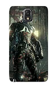 006f0b53694 Batman Arkham Knight 2015 Flip With Fashion For SamSung Note 2 Case Cover As New Year's Day's Gift