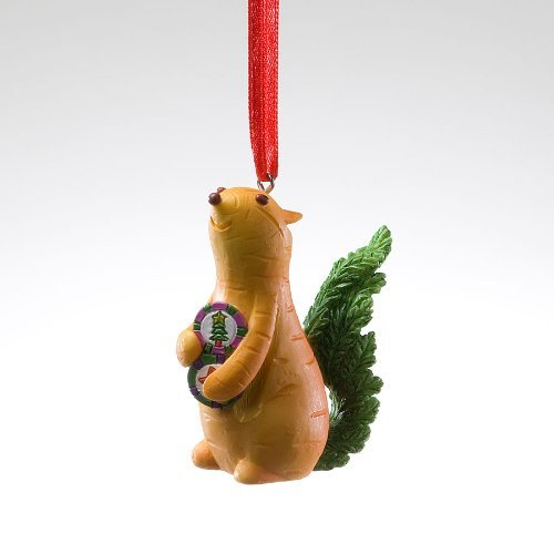 Home Grown Hanging Ornament - Carrot Chipmunk