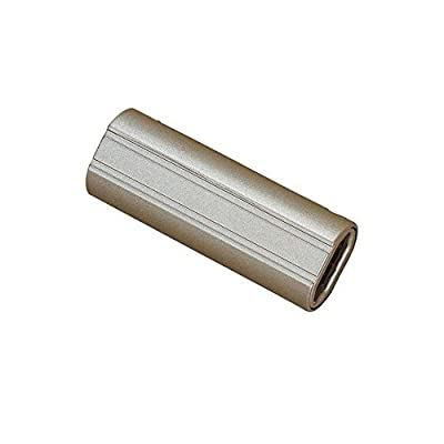 """Brushed Steel Straight Connect 1""""h x 1.08""""w x 2.91 Brushed Steel"""
