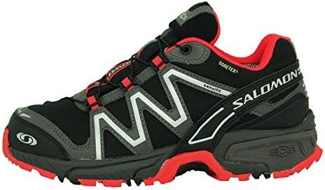 SALOMON NEON Trail GTX W Schwarz Rot Damen Running Trail