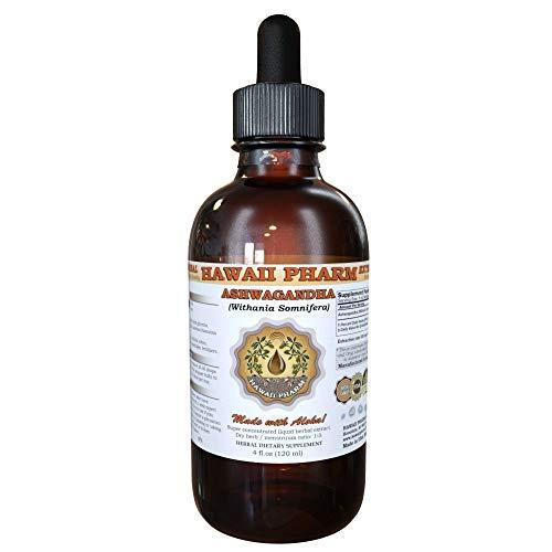 Alcohol Ashwaganda - Ashwaganda (Withania Somnifera) Liquid Extract 4 Oz (120ml)