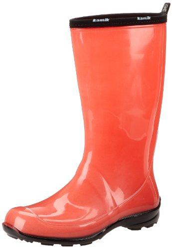 Caoutchouc imperméables Bottes de pluie Wellies Taille Kamik Heidi Femmes 7