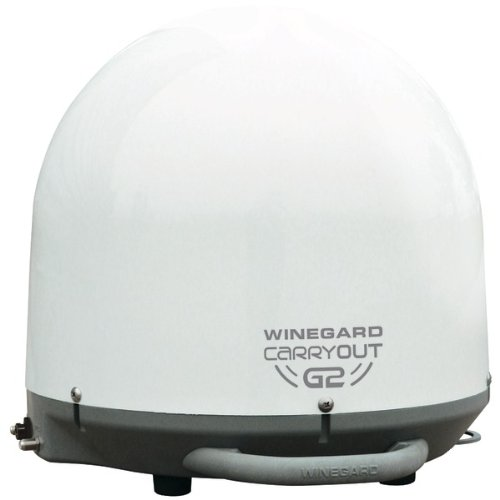 Winegard Gm-2000 Carryout(R) G2 Automatic Portable Satellite Tv Antenna (White)