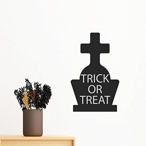 Halloween Cross Gravestone Removable Wall Sticker Art Decals Mural DIY Wallpaper for Room (Diy Halloween Grave Decorations)