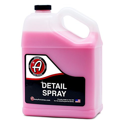 Adam's Detail Spray Gallon - Enhance Gloss, Depth, Shine - Extends Protection With Wax Boosting Technology - Our Most Iconic Product, Guaranteed To Outshine The Competition