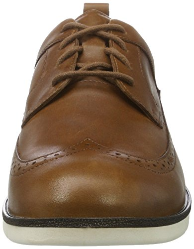 Ganter Gabriel-g, Zapatos de Cordones Derby para Hombre Marrón (Cognac)