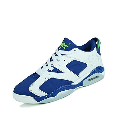 azul bajo botas caño Unisex LFEU blanco adulto de g6qHSxw0
