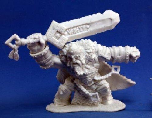 Grim Reaper miniature 77,101 Bones - Skorg Ironskull, Fire Giant King
