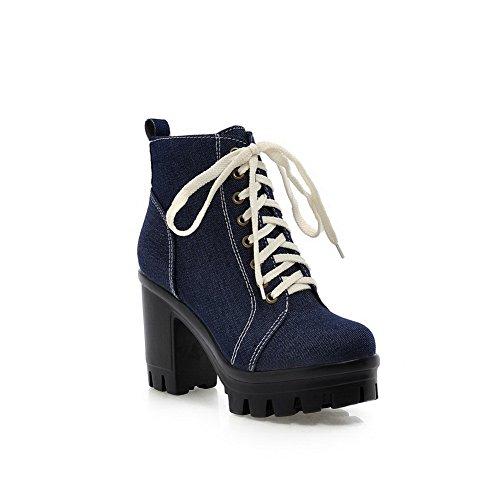 1TO9 Sandalias con Cuña Mujer azul oscuro