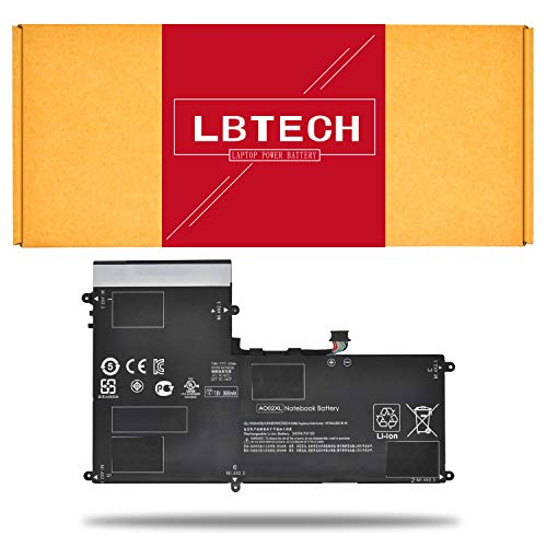 LBTECH Compatible AO02XL Laptop Battery Replacement for HP ElitePad 1000 G2 Series HSTNN-UB5O HP011302-PLP12G01 7.4V 31Wh ()