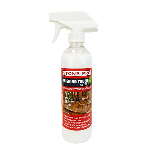 Stone Pro Finishing Touch Ultra - Granite Countertop Revitalizer - 16 oz. - Protect Finishing
