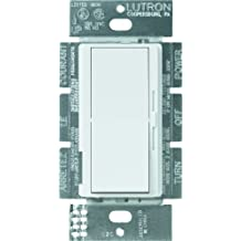 Lutron DVELV-300P-WH 300 Watt Diva Electronic Low Voltage Single Pole Dimmer, White