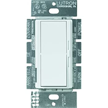 Lutron Dvelv 303p Wh 300 Watt Diva Electronic Low Voltage 3 Way