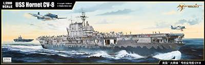 1/200 Scale USS Hornet CV-8 Aircraft Carrier Model Kit