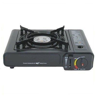 Deluxe Butane Burner Stove and Free Case, Outdoor Stuffs