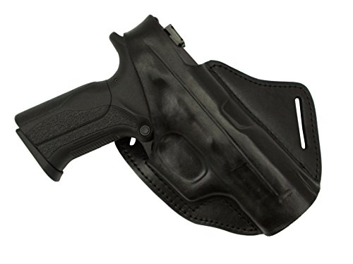Falco Cross Draw Leather Holster for Glock 20, 21