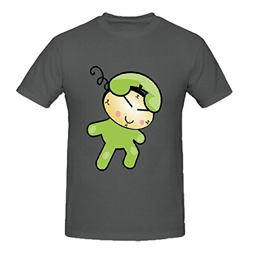 (Existlong Cute Phone Clock Character Custom T Shirts Design Round Neck)