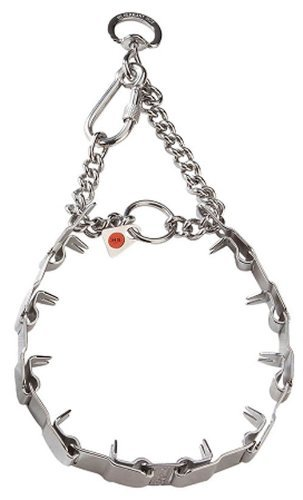 Image of Herm Sprenger Neck Tech Dog Collar - Stainless Steel - Prong - Pinch 24