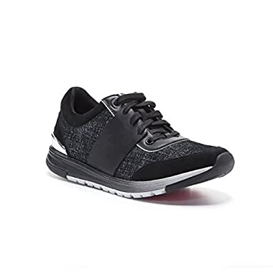 Foot Petals Womens 71242 Blair Fashion Jogger with Cushionology Black Size: 6