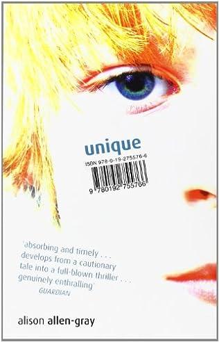 book cover of Unique